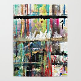 Colorful Bohemian Abstract 3 Poster
