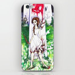 Catching Fire - HG  iPhone Skin