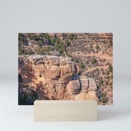 Angel's Window Rock on Bright Angel Trail in Grand Canyon Mini Art Print