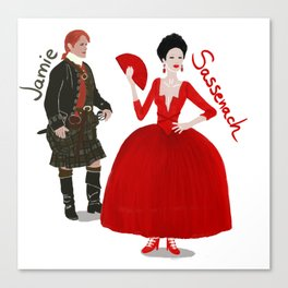 Vive le Frasers! Canvas Print