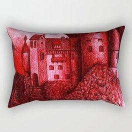 Dracula´s Castle Rectangular Pillow