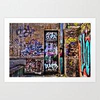 Urban Decay Europe Art Print