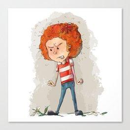 Fiery Redhead Canvas Print