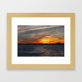 Changes on the Caloosahatchee I Framed Art Print