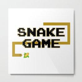 Snake Games Metal Print