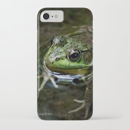 Frog Floating iPhone Case