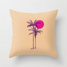 palm dream Throw Pillow