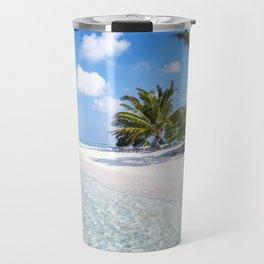 Maldives beach Travel Mug