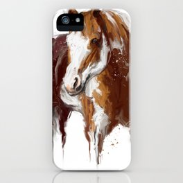 Paint Horse. iPhone Case