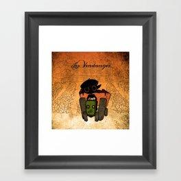Les vendanges Framed Art Print