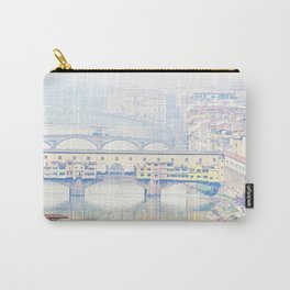 Ponte Vecchio. Carry-All Pouch