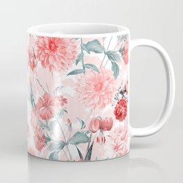 Vintage & Shabby Chic - Rose Blush Garden Flowers Coffee Mug