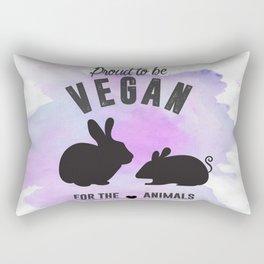 Proud to be Vegan Rectangular Pillow