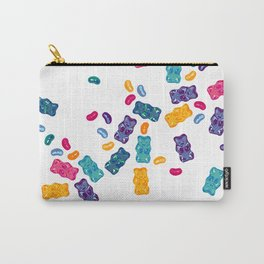 Sweet Jelly Beans & Gummy Bears Carry-All Pouch