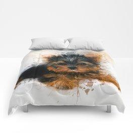 Yorkshire Terrier Puppy Comforters