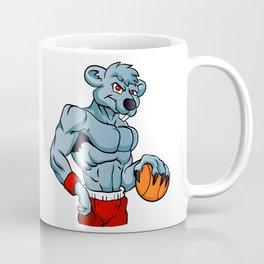rat basketball mascot. Coffee Mug