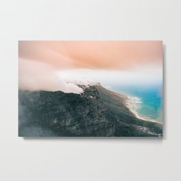 Table Mountain, South Africa Metal Print