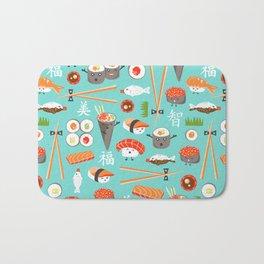 Happy Sushi Bath Mat