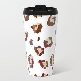 Light Leopard Travel Mug
