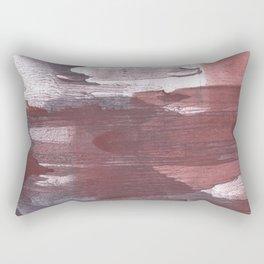 Burgundy Gray Rectangular Pillow
