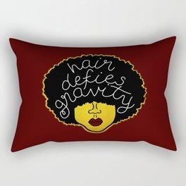 Defies Gravity Rectangular Pillow