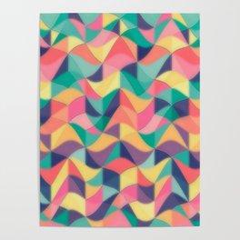 Wave Patty by Nico Bielow Poster