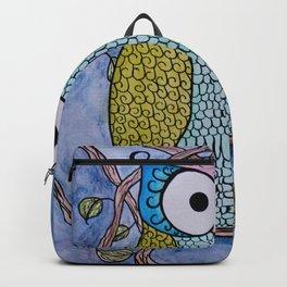 Owl in Tree Backpack