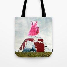 Bear Salute Tote Bag