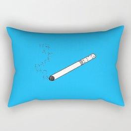TFIOS It's a Metaphor Smoke Rectangular Pillow