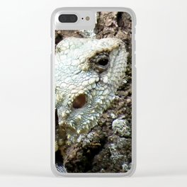Plated Lizard Clear iPhone Case