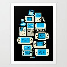 AXOR Heroes - Love For Handhelds Art Print