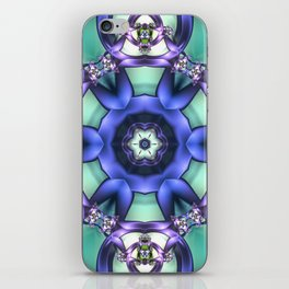 Allowing What Is Mandala iPhone Skin