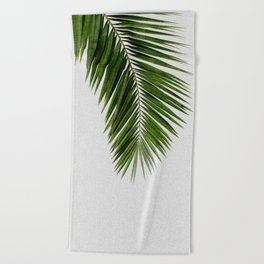 Palm Leaf I Beach Towel