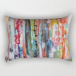 petit jardin 1 Rectangular Pillow