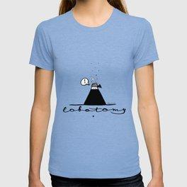 Lobotomy of a ninja T-shirt