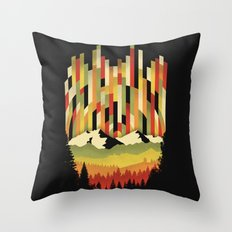 Sunset in Vertical Throw Pillow