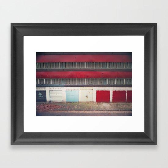 ⓉⒿⒶ Framed Art Print