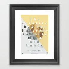 We Own The Universe  Framed Art Print