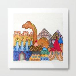 Dinogpcio Metal Print