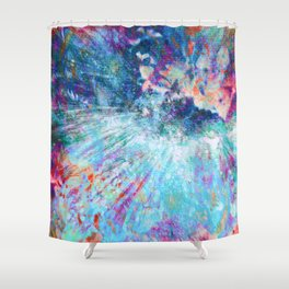 Dragon Erupt Shower Curtain