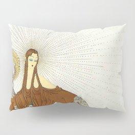 Art Deco 1920's Exotic Theatre Design Pillow Sham