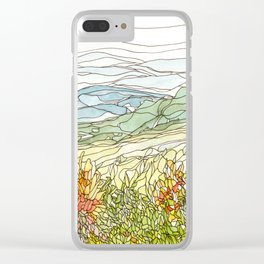 Mountains 15 Clear iPhone Case