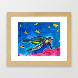 Honu Framed Art Print