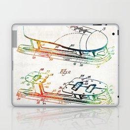 Ice Skate Patent - Sharon Cummings Laptop & iPad Skin