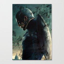 Steve Rogers 006 Canvas Print