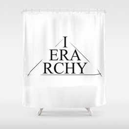 Ierarchy Shower Curtain