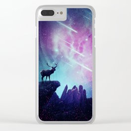Majestic dear Clear iPhone Case