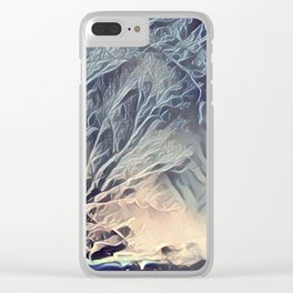 Ice Storm Clear iPhone Case