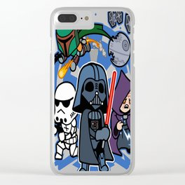 Darth Vader and Friends Clear iPhone Case