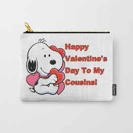 Happy Valentines Day To My Cousins Carry-All Pouch